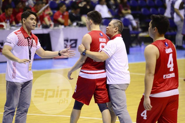 Boyet Fernandez insists San Beda still underdogs: 'We only won one game. They beat us twice'