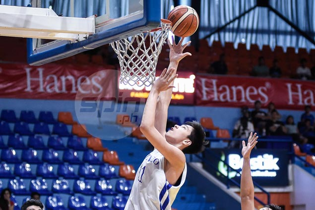 Ateneo Blue Eaglets cruise past FEU Baby Tams to gain share of early lead with NU Bullpups