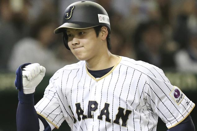 Highly touted Japanese pitcher-outfielder Shohei Otani declares intent to move to Major League