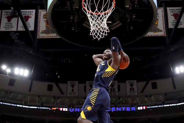 Pacers arrest four-game slide with victory over Bulls