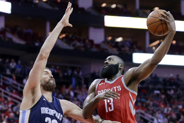 Rockets finally solve shooting woes against Grizzlies after two early losses this season