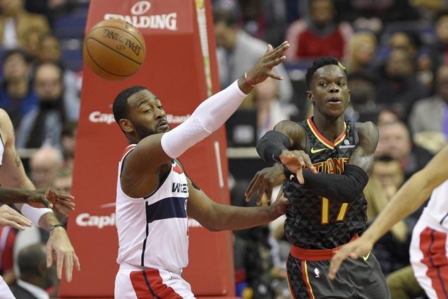 Wizards use stifling defense to send Hawks to third straight loss
