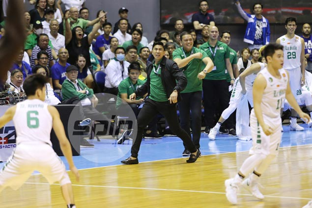 Anger a gift for Aldin Ayo as La Salle coach's fits of rage fires up Archers late rally over Eagles