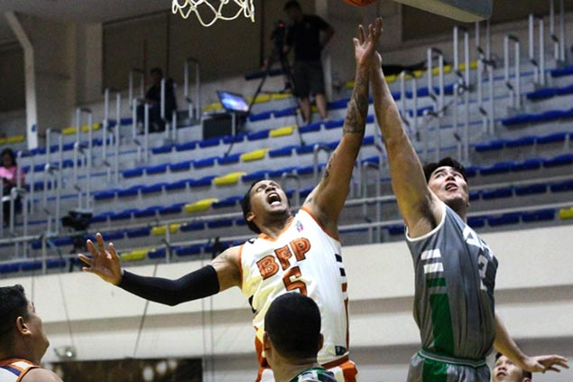 Rob Wainwright, Gilbert Malabanan take charge as BFP deals AFP first loss in UNTV Cup