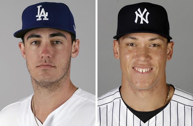 Aaron Judge, Cody Bellinger voted unanimously as Rookies of the Year
