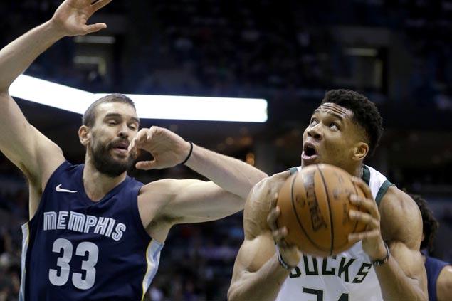 Bucks stretch streak to three, send Grizzlies to second straight loss