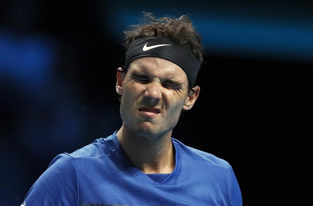Rafael Nadal pulls out of ATP Finals after opening match due to knee injury
