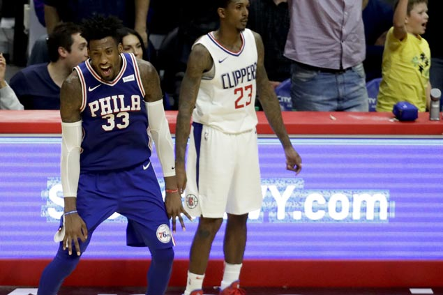Embiid, Covington take charge in Sixers rally to send Clippers to sixth straight loss