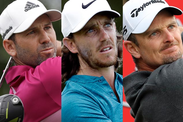 Tommy Fleetwood, Sergio Garcia, Justin Rose in three-way battle in Race to Dubai