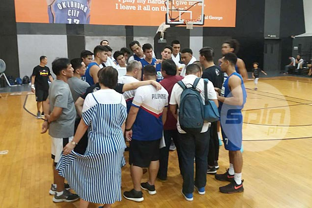 Gilas atones for Alab letdown with 21-point drubbing of Rain or Shine in tuneup