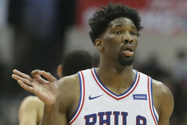 Embiid's career-high 46 power Sixers past Lakers as struggling Ball gets benched in endgame anew