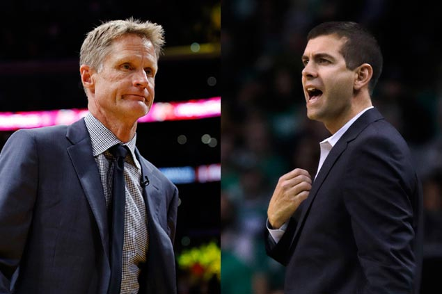 New rivalry brewing? Warriors coach says Celtics 'the team of the future in the East'