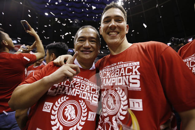 Bolick doesn't mind losing Finals MVP award to San Beda teammate Tankoua