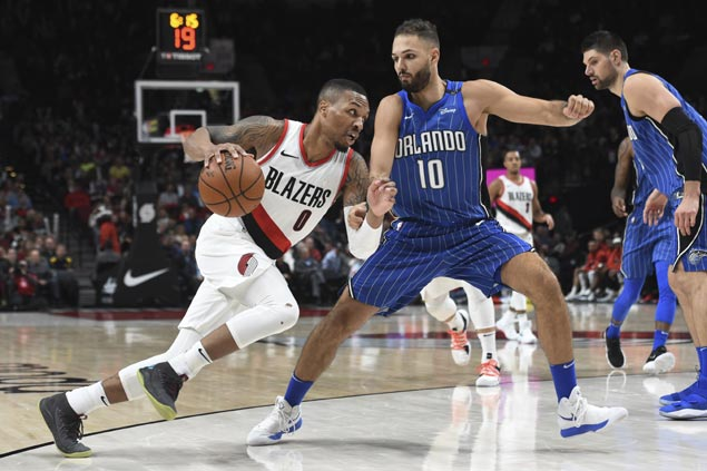 Blazers blow big lead but recover in time to sink Magic to third straight loss