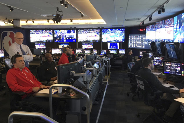 Get inside NBA Replay Center and meet the men that make bad calls right