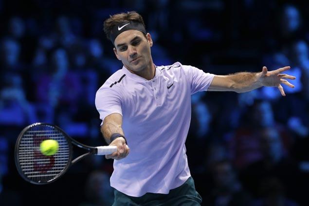 Jack Sock turns back Alexander Zverev to join Roger Federer in semifinals at ATP Finals