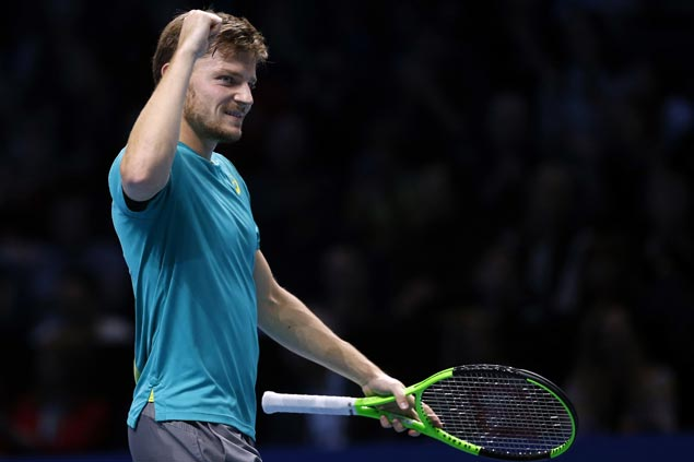 David Goffin rips Dominic Thiem to set up semifinal showdown with Roger Federer