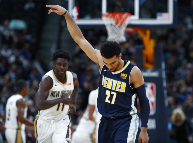 Nuggets rout Pelicans in highest-scoring game of young season, 146-114
