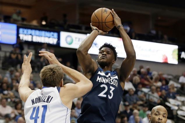 Timberwolves use balanced offense to beat Mavericks, end long run of futility in Dallas