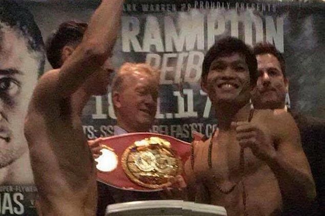 Jerwin Ancajas hopes biting Belfast cold won't be a problem in title defense vs Conlan