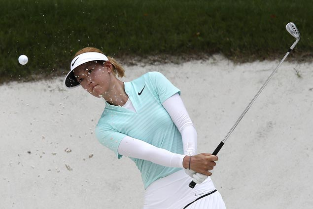 Michelle Wie, three others share lead entering final round of LPGA season ender