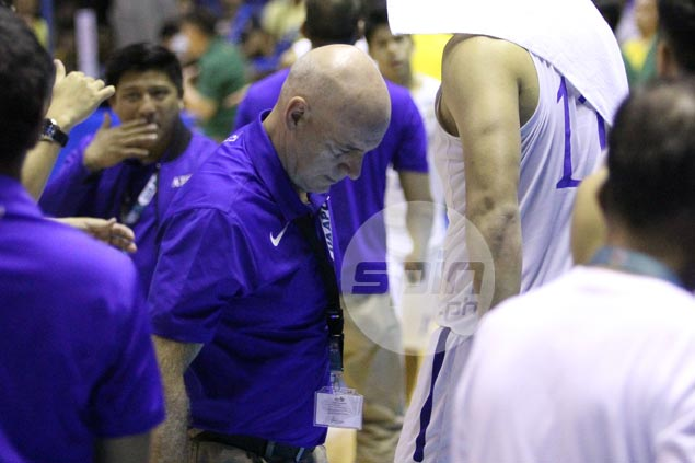 With confidence shot, Tab Balwin says Blue Eagles need to 'rediscover who we are'