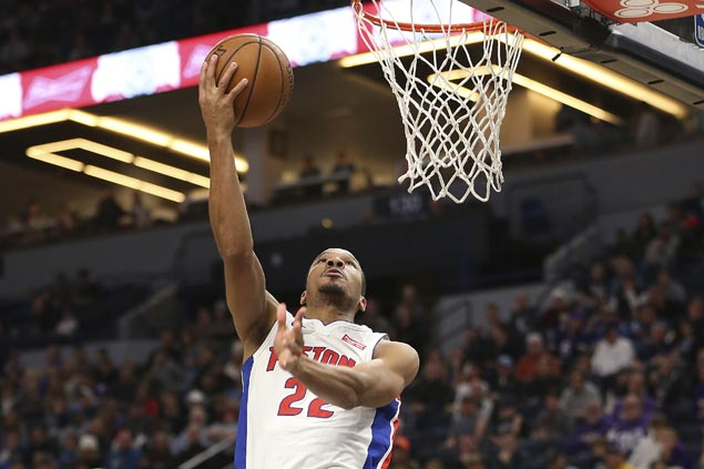 Pistons halt two-game slide, stop Timberwolves' win run at three