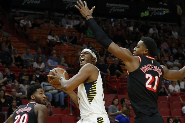 Pacers put emphatic end to Miami hex, use huge third quarter surge to rip Heat