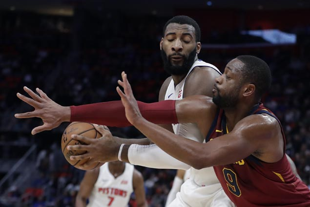 Cavaliers make it five straight wins with rout of Pistons