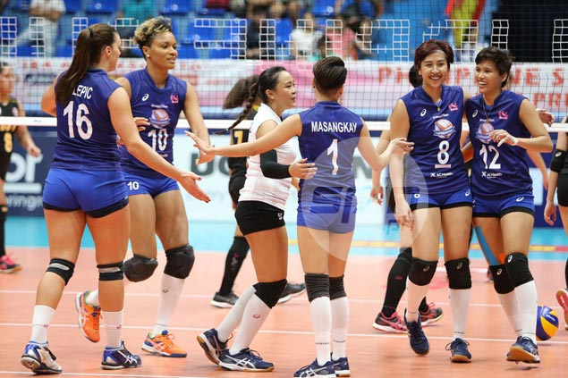 Generika-Ayala bounces back with rout of winless Victoria Sports-UST in PSL Grand Prix