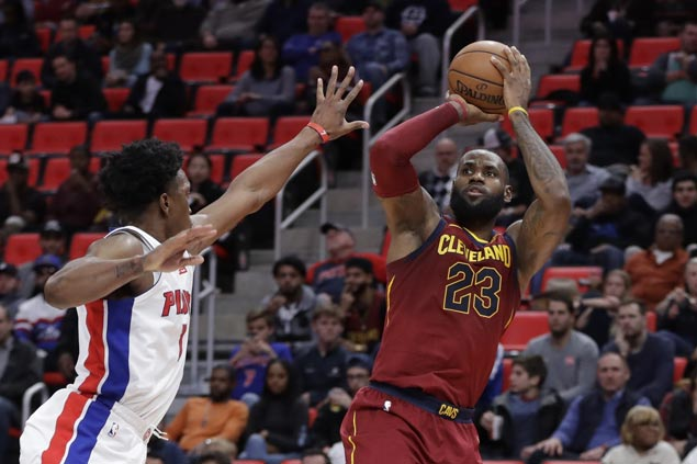 Cavaliers regain swagger, LeBron his smile after rout of division leaders Pistons