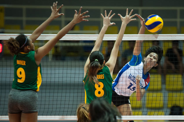 Bacolod Tay Tung shares group lead with two others in Under-18 girls volleyball tournament