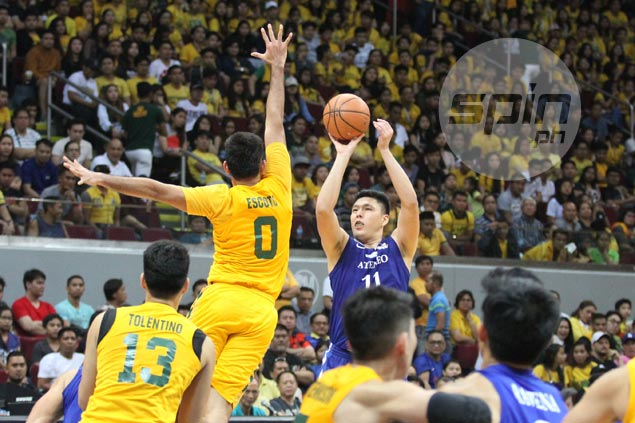 Redemption so sweet as Isaac Go hits big shot with Ateneo season on the brink