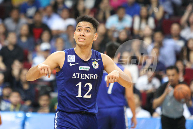 Matt Nieto shows way as Ateneo scores Filoil record 64-point rout of EAC