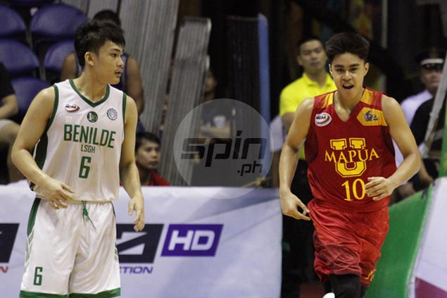 Red Robins, Greenies battle for all the marbles in NCAA juniors title decider