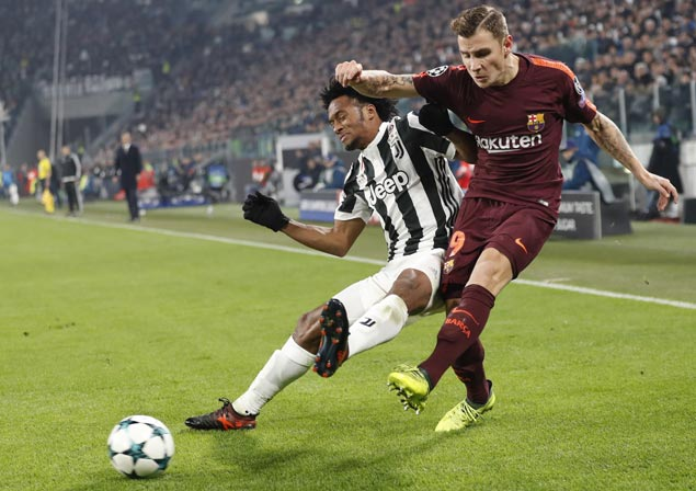 Barcelona draws with Juventus to seal top spot in Champions League group