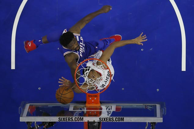 Sixers take control early and hold Blazers to their lowest points total of season
