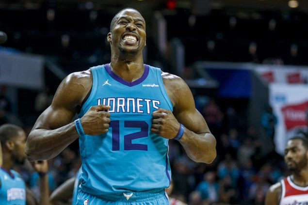 Resurgent Dwight Howard comes up clutch as Hornets rally late to sting Wizards in overtime