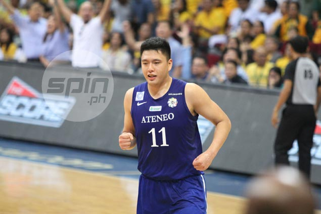 'Lucky shot' a product of Isaac Go's presence of mind, says Ateneo coach
