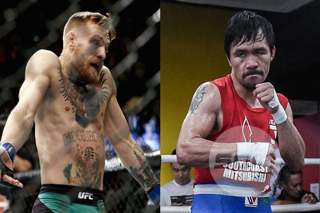 Did Manny Pacquiao just hint at a match against Conor McGregor in 2018?