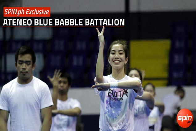 Blue Babble Battalion vows to rise out of cellar with flawless cheerdance show