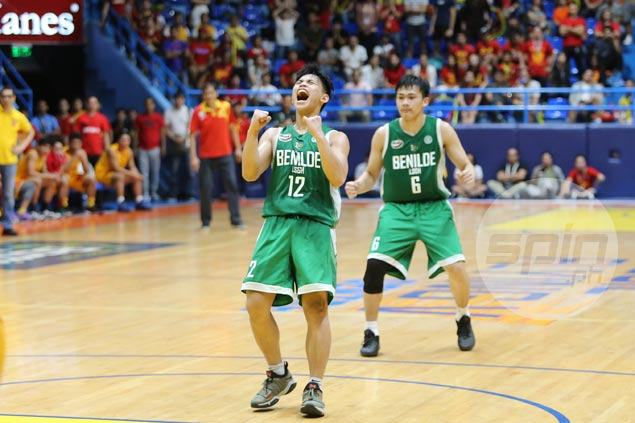 Joel Cagulangan comes up clutch as LSGH Greenies dethrone Mapua for first NCAA title