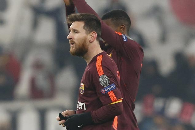Barcelona gives Lionel Messi rare cameo off bench to keep star fresh for crucial Valencia match
