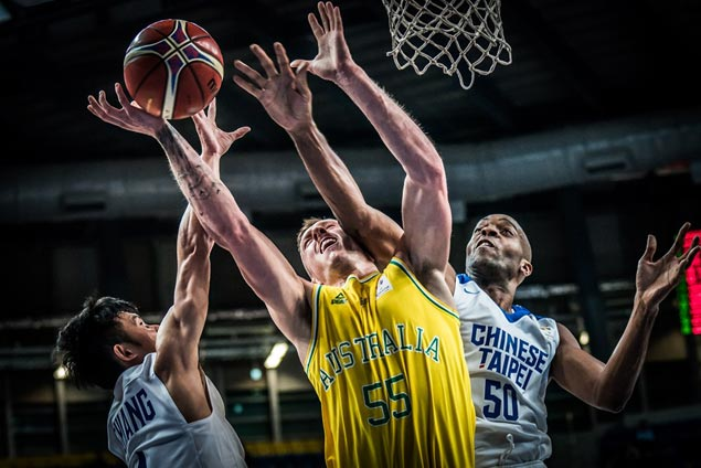 Australia's Boomers prove too good for Chinese-Taipei at start of World Cup qualifying