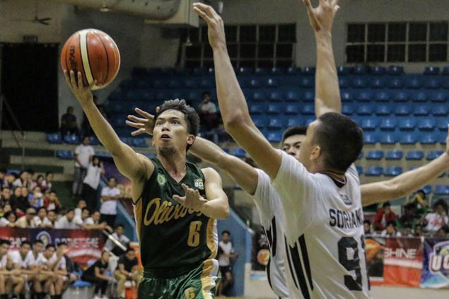 Noy Bermudes knocking on D-League door after rising from the ranks at Olivares College