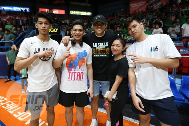 Former LSGH stars Prince, Ricci Rivero take pride as Greenies finally capture NCAA crown