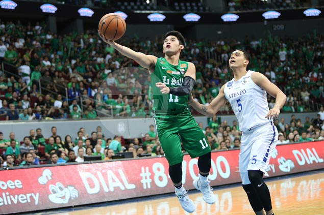 Aljun Melecio rues poor communication in La Salle loss as breakout game goes for naught