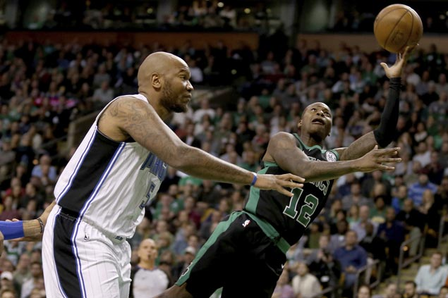 Irving has 30 points, Rozier scores career-high 23 as Celtics cruise to victory over Magic