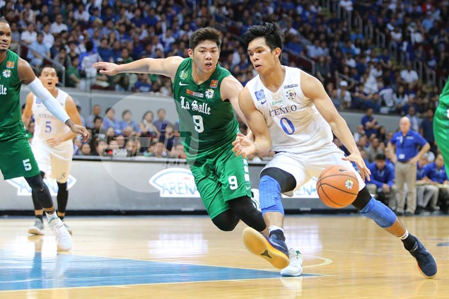 Thirdy Ravena, Isaac Go come up big in endgame as Eagles down Archers to draw first blood in finals
