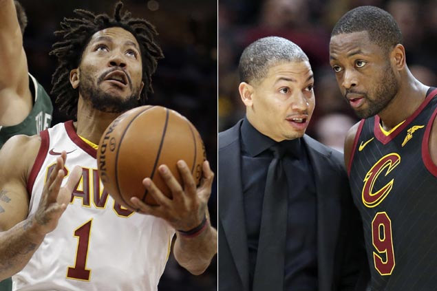Tyronn Lue hopes for Derrick Rose to return after settling 'personal matter' as Cavs sustain surge